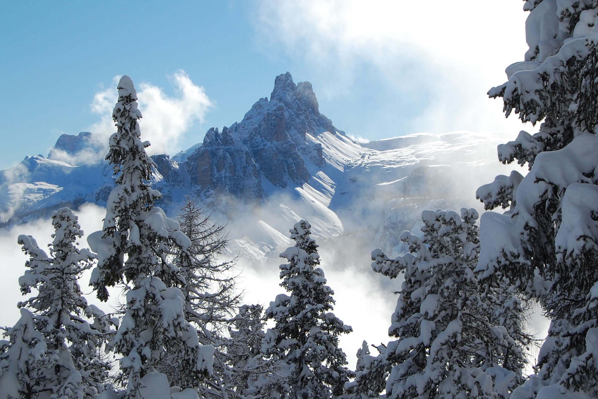 vacanze invernali in montagna action tra le dolomiti